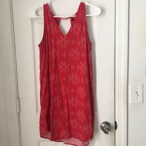 Gap | red and white summer dress